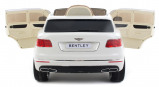 Afbeelding van Bentley kinderauto Bentayga wit