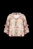 Image de FSTVL by MS Mode Mesdames Un chemisier à imprimé floral