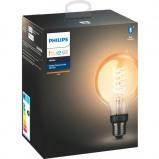 """Bilde av """"Philips Hue W E27 Filament G93 7W BLT"""""""