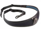 Afbeelding van 4V Design ALA Neck Strap Metal Ring Black/Black