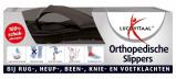Afbeelding van Lucovitaal Orthopedische Slipper Zwart Maat 45 46 1 paar