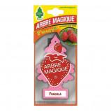 Afbeelding van Arbre Magique luchtverfrisser 12 x 7 cm Fragola rood/roze