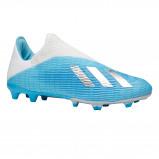 Afbeelding van adidas performance Nemeziz 19.4 FxG X 19.3 FG voetbalschoenen lichtblauw