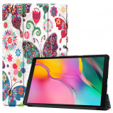 Afbeelding van 3 Vouw cover hoes Samsung Galaxy Tab A 10.1 inch (2019) Vlinders