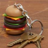 Afbeelding van Hamburger sleutelhanger van Kikkerland