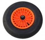 Afbeelding van Fort Luchtbandwiel doorsnee 40 band 10 cm kunststof velg oranje