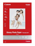Billede af Canon GP 501 glossy fotopapir A4, 170g, 5 ark (0775B076)
