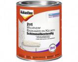 Afbeelding van Alabastine 2 in 1 muurverf badkamer en keuken schimmelbestendig 1 l, wit, blik
