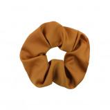 Afbeelding van Bruine scrunchie basic, Haarelastiekje