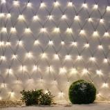 Afbeelding van Best Season groot LED Lichtgordijn Net 3x3m, kunststof, L: 300 cm, H: cm