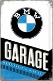 Afbeelding van BMW Garage Metalen Wandplaat 40x60cm Wandplaten
