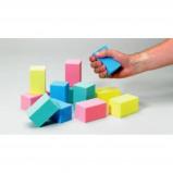 Afbeelding van Adhome Oefenblokken voor grijpoefeningen assortiment, 3 van elke kleur, per