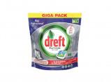 Afbeelding van Dreft Platinum Vaatwastabletten All in One Regular 90 stuks