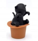 Afbeelding van Invotis thee ei kat in hoed