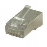 Afbeelding van Valueline Connector RJ45 Solid STP CAT5 Male PVC