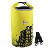 Afbeelding van CheapOutdoor Overboard waterdichte tas Urban Safe Cityscape DryBag 20 liter Geel