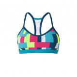 Afbeelding van adidas bikinitop met racerback turquoise