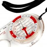Afbeelding van CheapOutdoor Fosco Industries Kompas Ultimate Map met vergrootglas en nekkoord