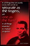 Afbeelding van Booker Afrikaans Amerikaanse Historie Poster 61x91.5cm Educatieve Posters