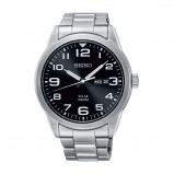 Afbeelding van Seiko SNE471P1 horloge herenhorloge Zilverkleur