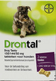 Afbeelding van Drontal Dog flavour ontworming 2st