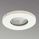 Afbeelding van Albert Leuchten orio inbouw plafondspot voor buiten in wit, gietaluminium, E27, 50 W, energie efficiëntie: A++, H: 0.9 cm