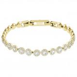 Afbeelding van Swarovski 5505469 Angelic Bracelet goudkleur Armband Medium
