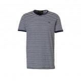Afbeelding van Amsterdenim T shirt Coen marine