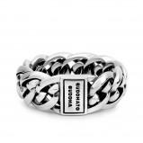 Afbeelding van Buddha to 601 Nathalie Small Silver Ring (maat 17)