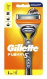 Afbeelding van Gillette Fusion 5 scheerapparaat + 1 scheermesje 2 stuks