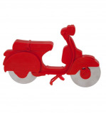 Afbeelding van La Chaise Longue Pizzasnijder Scooter Rood
