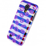 Afbeelding van Xccess Cover Samsung Galaxy S4 Mini I9195 Turquoise Stripes