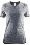 Afbeelding van Craft Active Comfort K.M dames thermoshirt grijs dessin