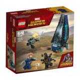 Afbeelding van 76101 LEGO® Marvel Super Heroes Outrider shuttle aanval