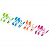 Afbeelding van TRIBALSENSATION Veelkleurige zachte greep wasknijpers waslijn set van 25