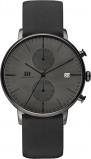 Afbeelding van Danish Design IQ16Q975 herenhorloge grijs edelstaal PVD