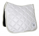 Obrázek Cavallino Marino soft powder quilt saddle pad white