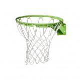 Bilde av EXIT basketballring og nett grønn
