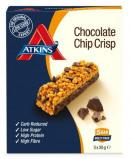 Afbeelding van Atkins Chocolate Chip Crisp Reep 30 gram, 5x30 gram