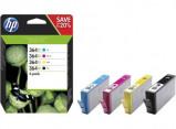 Afbeelding van HP 364XL (N9J74AE) Inktcartridge 4 kleuren Voordeelbundel Hoge