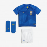 Abbildung von 2018 Brazil CBF Stadium Away Baby& Toddler Football Kit Blue