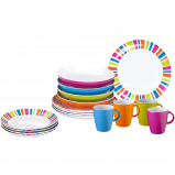 Afbeelding van Brunner Lunchbox Spectrum 16 delig Campingservies Set