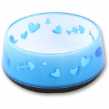 Abbildung von All For Paws Kitty Love Bowl Blau