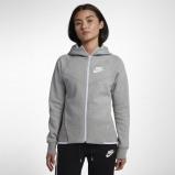 Image of Nike Sportswear Men's Full Zip Hoodie Grey