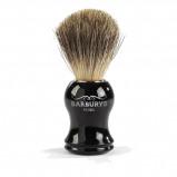 Abbildung von Barburys Scheerkwast Grey Silhouette 100% Dassenhaar Rasur Beauty