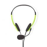 Afbeelding van Alpexe Basicxl Bxl headset1 gr Draagbare Stereo Headset Groen