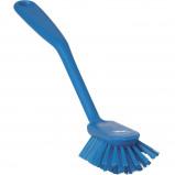 Afbeelding van Vikan Afwasborstel Uitstaande vezels Medium Blauw