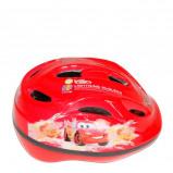Afbeelding van Disney Cars fietshelm jongens rood maat 51/55 cm
