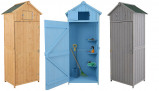 Imagine din 'Beach Hut' Wooden Storage Shed 4 Colours & 2 Sizes!