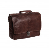 Bilde av Chesterfield Leather Briefcase Brown Aberdeen